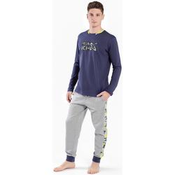 textil Hombre Pijama Munich Pijama Hombre Munich Gris