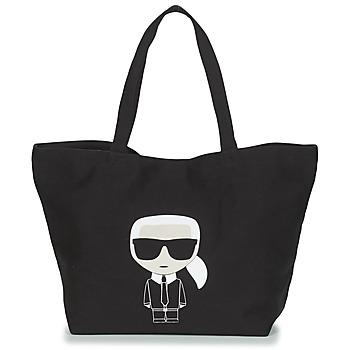Bolsos Mujer Bolso shopping Karl Lagerfeld K/IKONIK KARL TOTE Negro