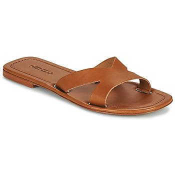 Zapatos Mujer Zuecos (Mules) Kenzo OPANKA Cognac