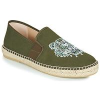 Zapatos Hombre Alpargatas Kenzo ELASTIC TIGER Kaki