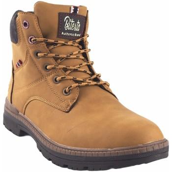 Zapatos Hombre Botas de caña baja Bitesta Botín caballero  39111 tostado Marrón