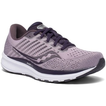 Zapatos Mujer Running / trail Saucony Ride 13 Violeta
