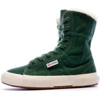 Zapatos Mujer Botines Superga  Verde