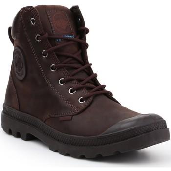 Zapatos Zapatillas altas Palladium Manufacture Pampa Cuff WP LUX 73231-249-M marrón