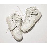 Zapatos Zapatillas bajas Nike Air Force 1 high x Comme des Garçons WHITE/WHITE-BLACK WHITE