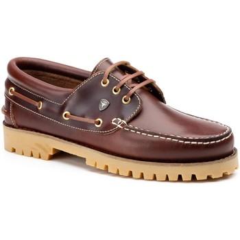 Zapatos Hombre Derbie & Richelieu Iberico Shoes Zapatos náuticos XL de piel by Ibérico Marron
