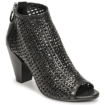Zapatos Mujer Low boots Mimmu INTRECCIO-NERO-PARKER Negro