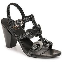 Zapatos Mujer Sandalias Mimmu TRECCIA-P-NERO Negro
