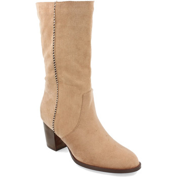 Zapatos Mujer Botas urbanas Buonarotti 1A-0462 Beige