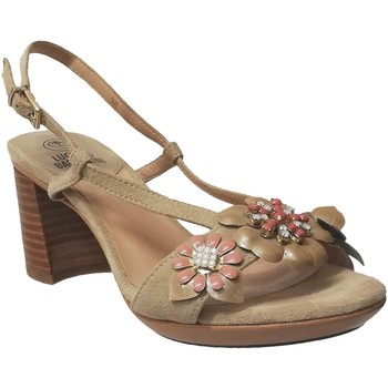 Zapatos Mujer Sandalias Luciano Barachini 19150 Beige