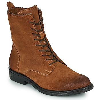 Zapatos Mujer Botas de caña baja Mjus PAL LACE Camel