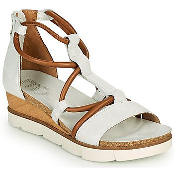 Zapatos Mujer Sandalias Mjus TAPASITA Blanco / Camel