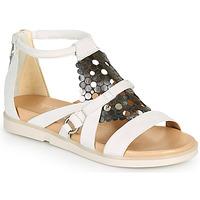 Zapatos Mujer Sandalias Mjus KETTA Blanco / Plateado