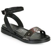 Zapatos Mujer Sandalias Mjus KETTA Negro / Plata