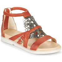 Zapatos Mujer Sandalias Mjus KETTA Ladrillo / Plata