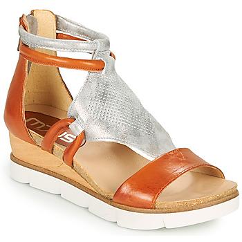 Zapatos Mujer Sandalias Mjus TAPASITA Ladrillo / Plata