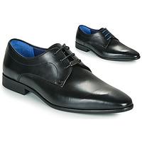 Zapatos Hombre Derbie Azzaro VILLAGE Negro