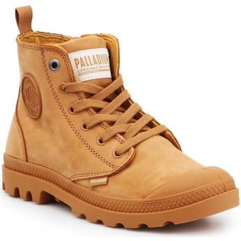 Zapatos Mujer Zapatillas altas Palladium Manufacture Pampa HI ZIP NBK 96440-717-M marrón