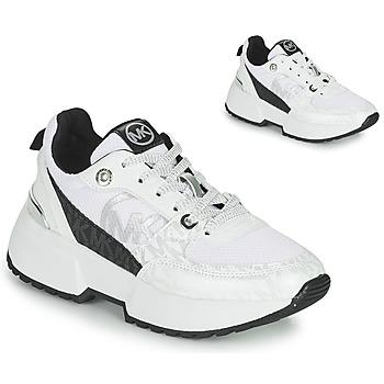 Zapatos Niña Zapatillas bajas MICHAEL Michael Kors COSMO SPORT Blanco / Negro