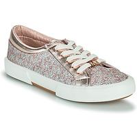 Zapatos Niña Zapatillas bajas MICHAEL Michael Kors IMA TINSEL Rosa / Gold / Plata