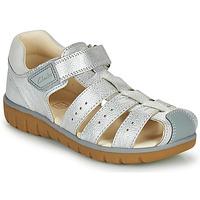 Zapatos Niña Sandalias Clarks ROAM BAY K Plateado