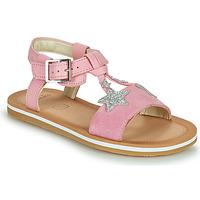 Zapatos Niña Sandalias Clarks FINCH SUMMER K Rosa