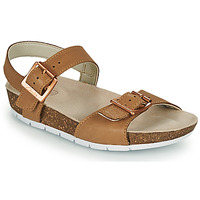 Zapatos Niños Sandalias Clarks RIVER SAND K Camel