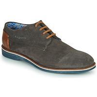 Zapatos Hombre Derbie Bugatti MELCHIORE Gris
