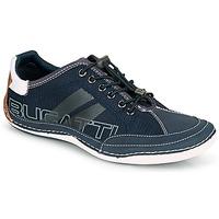 Zapatos Hombre Zapatillas bajas Bugatti CANARIO Marino
