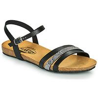 Zapatos Mujer Sandalias Plakton MAM ALOU Negro