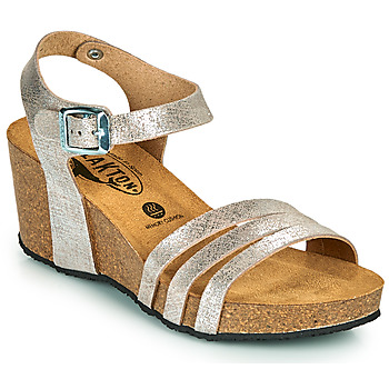 Zapatos Mujer Sandalias Plakton BRESCIA Plata