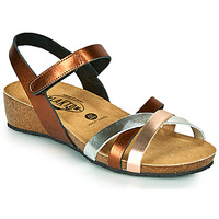 Zapatos Mujer Sandalias Plakton NOTE Cobre / Rosa / Plata