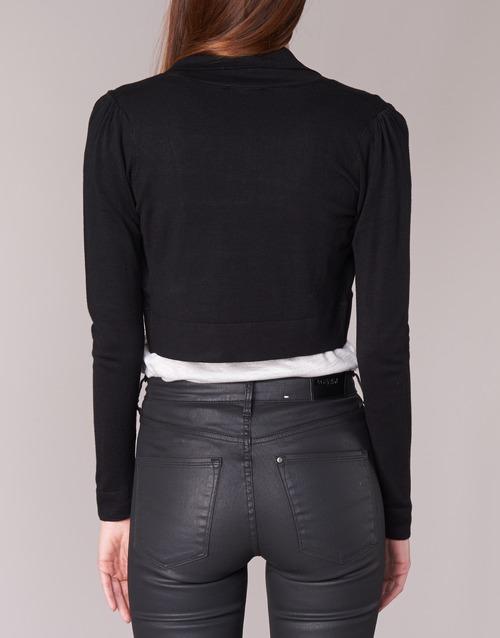 Molu Punto Negro Mujer Morgan Chaquetas Textil De bY6gyf7