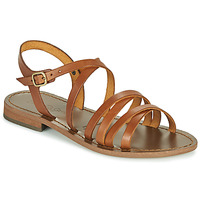 Zapatos Mujer Sandalias Dream in Green OBELLA Tan