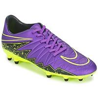Zapatos Hombre Fútbol Nike HYPERVENOM PHELON II FG Violeta