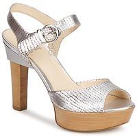 Zapatos Mujer Sandalias Fabi KAITE Plateado