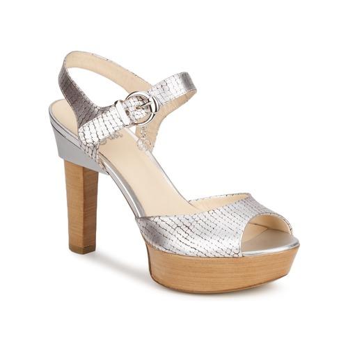 Mujer Plateado Fabi Zapatos Sandalias Kaite dxoBerCWQ