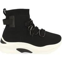 Zapatos Mujer Zapatillas altas Buonarotti 1AP-1022 Negro