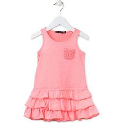 textil Niña Vestidos cortos Losan 716 7009AD Rosado
