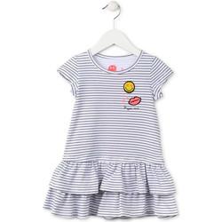 textil Niña Vestidos cortos Losan 716 7065AD Azul