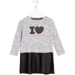 textil Niña Vestidos cortos Losan 726 7014AD Gris