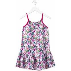 textil Niña Vestidos cortos Losan 814-7043AB Rosado