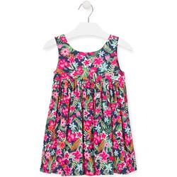 textil Niña Vestidos cortos Losan 016-7036AL Rosado