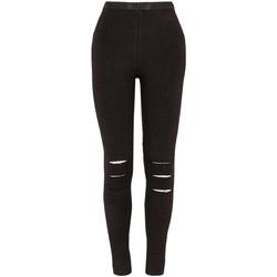 textil Niña Leggings Losan 024-6000AL Negro
