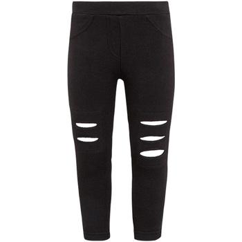 textil Niña Leggings Losan 026-6008AL Negro