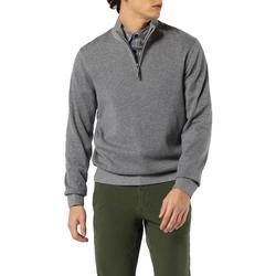 textil Hombre Jerséis Dockers ALPHA PLAITED 1/4 ZIP B13 Gris