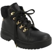 Zapatos Mujer Botines Panama Jack B6 NEGRO Negro