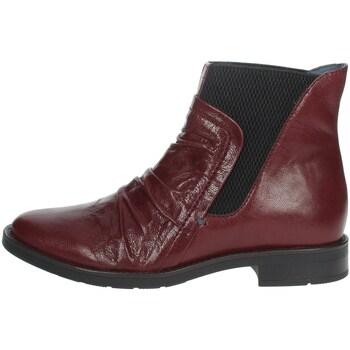 Zapatos Mujer Botines Riposella IC-84 Bordeaux