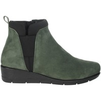 Zapatos Mujer Botines Riposella IC-50 Verde obscuro