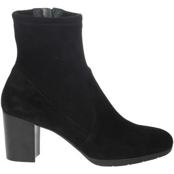 Zapatos Mujer Botas de caña baja Nina Capri IC-77 Negro